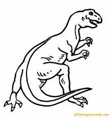 teratosaurus dinosaur coloring free coloring pages