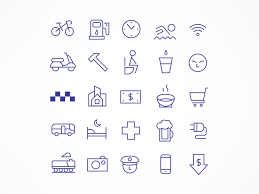 travel icons images Free linear travel icon pack free design resources jpg