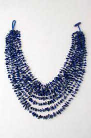 strand necklace images Lapis lazuli multi strand necklace silver eagle gallery jpg