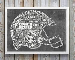 Engraved Football Gifts Football Helmets Etsy