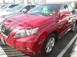 lexus red rx 350 for sale 2010 lexus rx 350 awd in matador red mica 008580 nysportscars