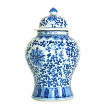 What Is Ginger Jars Blue And White Ginger Jar U2013 Mintwood Home