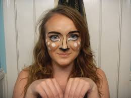 Bambi Halloween Makeup by Bambi A Simple Halloween Look The Rosy Snail