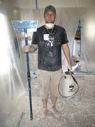 Easiest Way To Scrape Popcorn Ceiling by Diy Video How To Re Texture A Ceiling After