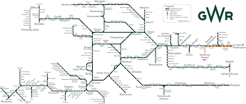 Map My Route by Oc Gwr Route Map My First Attempt At Creating A Transit Map