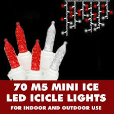 red white icicle lights led string lights icicle lights string lights store
