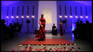 flamenco dancing during a corporate event at the temple house in