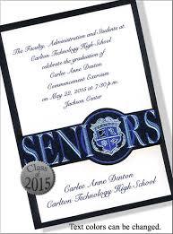 formal high school graduation announcements designs free formal graduation invitation wording with photo