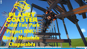cedar fair parks map planet coaster cedar fair park project rmc rocky mountain
