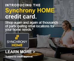 Who Accepts Home Design Credit Card Home Improvement Financing Synchrony Bank