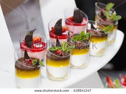 cuisine de a à z verrines mini canapes plastic cups decorated edible stock photo edit now