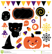 halloween party set stock image image 33274021