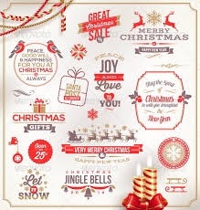 christmas signs set of christmas signs emblems and greetings by sergo graphicriver