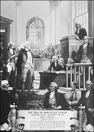 Bench Trial Definition Crown V John Peter Zenger 1735