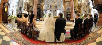 religious wedding religious wedding ceremony in italy