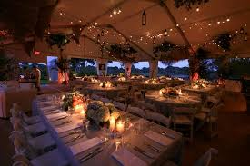 outdoor party tent lighting levy lighting used string lights to illuminate an outdoor tent at a
