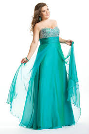 strapless ruched sweetheart rhinestone floor length empire teal