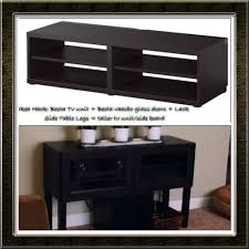 ikea hack besta tv stand besta vaasbo glass doors lack side