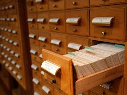Library Catalog Cabinet The Card Catalog Is Officially Dead Smart News Smithsonian