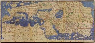 Map Of Al Al Idrisi 12th Century Ce U2013 5th Century Ah Geographer And