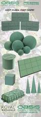 Oasis For Flowers - oasis wet floral foam shapes for wedding centerpieces arch