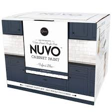 can you spray nuvo cabinet paint product review nuvo cabinet paint minted spaces