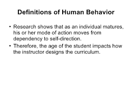Definition Of Vanity Flight Instructor Human Behavior Lesson