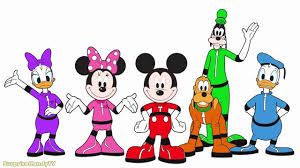 mickey mouse clubhouse space adventure coloring pages for kids