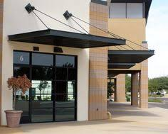 Metal Awnings For Front Doors Stainless Steel And Glass Canopy Sodo Commons Pinterest