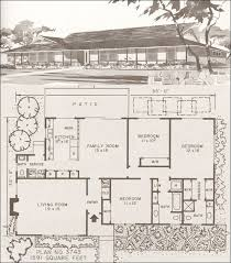 mid century ranch floor plans 58 best mid century home plans images on pinterest vintage homes