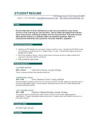 sample resume for a fresh graduate template for resume free expin memberpro co