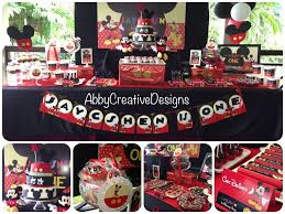 Birthday Candy Buffet Ideas by Mickey Mouse Birthday Party Ideas Mickey Mouse 1st Birthday