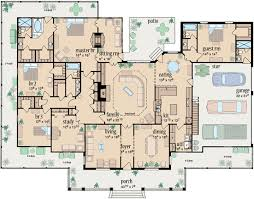 4 bedroom home plans farm house plan 4 bedrooms 4 bath 3388 sq ft plan 18 487
