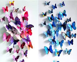 3d butterflies wall decor u2014 unique hardscape design design ideas