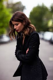 alina ermilova inspiration lob haircut