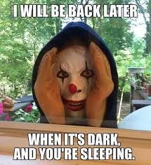 Creepy Clown Meme - 61 best clowns images on pinterest clowns evil clowns and faces