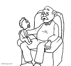 grandfather coloring pages funycoloring