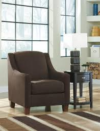 Ashley Furniture Living Room Chairs by Maier Walnut Accent Chair By Ashley Furniture