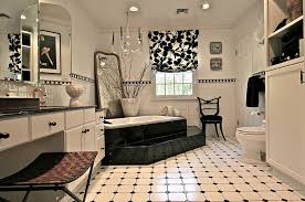 black tile bathroom ideas black and white bathrooms design ideas decor and accessories