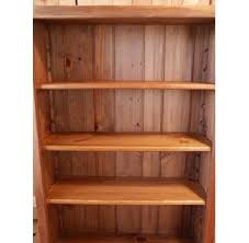 hand crafted shaker 5 u0027 white pine bookcase by white sands custom