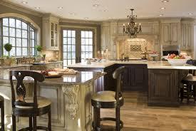 antique white kitchen cabinets with white appliances u2014 decor
