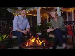 Pleasant Hearth Fire Pit - pleasant hearth ofw327rc brentwood fire pit video youtube
