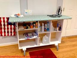 quilting ironing board table a diy ironing station is so handy for quilting sewing rooms