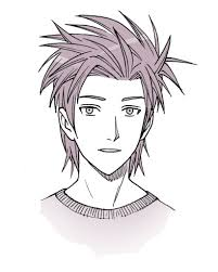 spiky anime hairstyles anime hair manga hair how to draw spiky hair hairstyle
