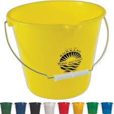 personalized buckets personalized buckets custom printed buckets usimprints