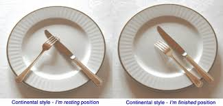 kitchen forks and knives table etiquette two different styles of huffpost