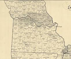 missouri map by population 1860 map shows missouri s population news