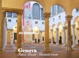 il cortile genova genova cortile interno e porticato di palazzo ducale
