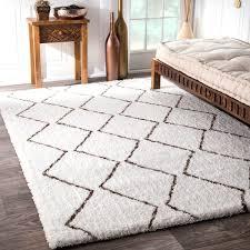 nuloom handmade moroccan trellis shag rug 8 u0027x10 u0027 free shipping