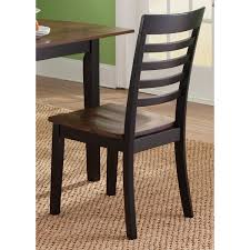 Slat Back Dining Chairs Cafe Back And Cherry Slat Back Dining Chair Free Shipping Today